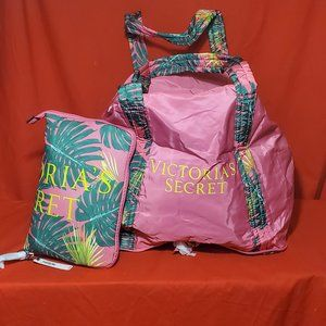 NWT Victoria secret travel tote bag carryall